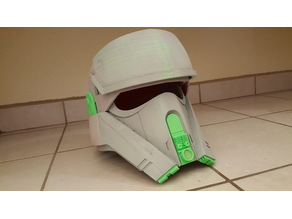 Shoretrooper Helmet - Cut for Duplicator i3/Prusa i3