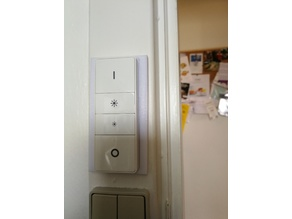 Philips Hue Dimmer Switch Backplate - 50 mm