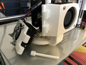 Anet A8 Extruder Fan Modification V2 BY Hadako - Remix