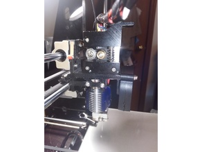 Prusa Direct Drive E3D extruder mount