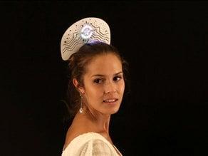 LED NeoPixel Ring Hair Dress