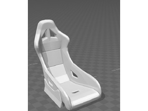 scale RC bucket seat