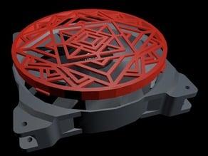Corsair SP120 Fan Ring v2 - Mandala Grill