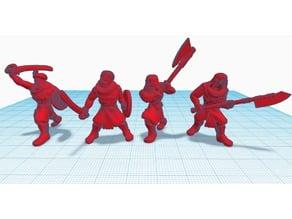 Heroscape Proxies: MacDirk Warriors