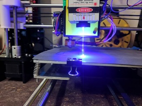 Anet A8 Laser Bracket and Mod