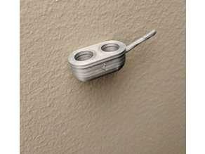 Bedside Eye mask & Earplug wall holder