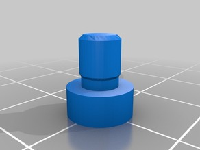 Anet A8 - X Belt Tensioner - all m3, with support for long screws and toothed idler