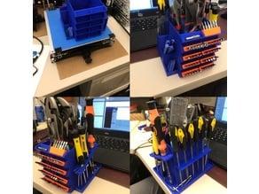 desktop tool organizer