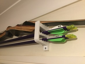 Small bow hanger