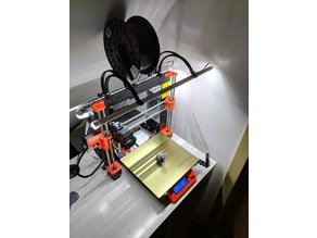 PRUSA i3 mk3 led strip attachment