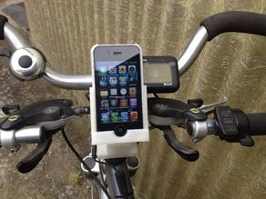Iphone 4S bicycle mount