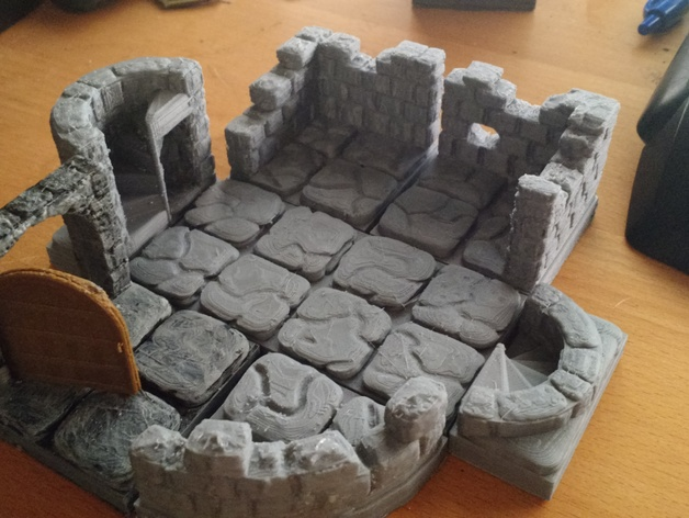 Spiral Stairs Compatible With Openforge D Amp D Dungeon