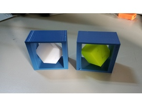 Calibration Cube Spin Box