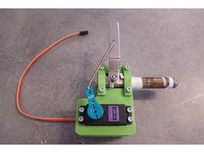 """Heavy duty servo ball valve 1/4"""" NPT"""