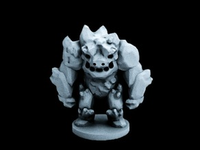 Ice Elemental (18mm scale)