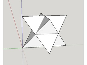Tetahedron Star Flat