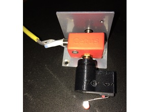 Cetus 3D z-probe holder improved