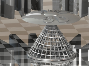 My Thing in 3D Scanning Flying Saucer