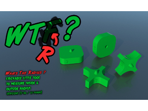WTR? - radius measuring tools