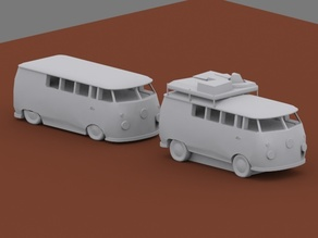 Modular VW bus container