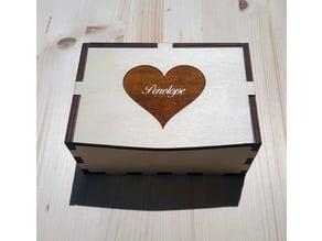 Box Case Wood jewelry