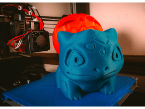 Bulbasaur Pumpkin Tealight Remix