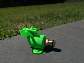 Lawn Sprinkler (repaired mesh & new thread)