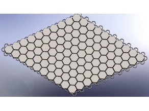 Hexagon Fabric