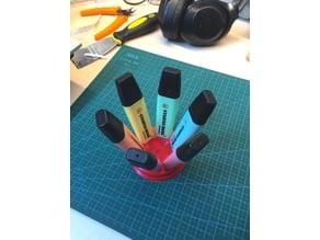 Stabilo Highlighter Desk Holder