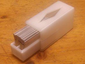 single edge razor box