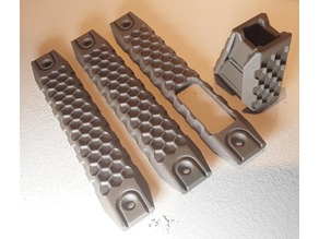 Rail Grip, Rail Cover and Hand Stop