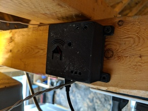 Nodemcu and Relay Housing for Garage Door Opener