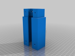 Unified Atlas 3d scanner frame section