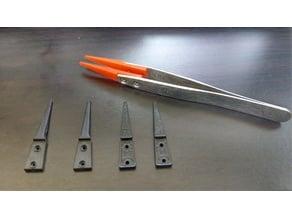 Tweezers replacement chip
