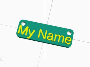 My Clever Name Tag