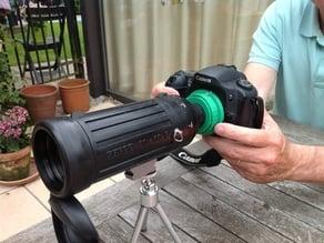 Canon EF digiscoping mount