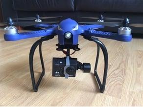 Bugs 3 drone Walkera gimbal mod