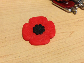 Remembrance Day Poppy (Standard)