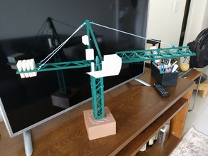 Jaso J5010 Tower Crane miniature
