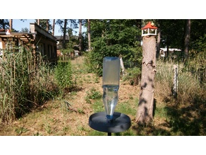 PET Waterdispenser for Birds, Bees&Co w/o Supports