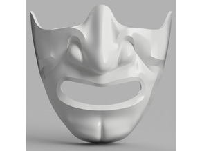 Samurai Half Mask (Mempo)