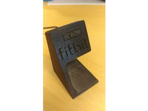 Fitbit Ionic stand with logo