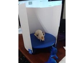 $0.16 Backdrop for $3.47 3D Scanner