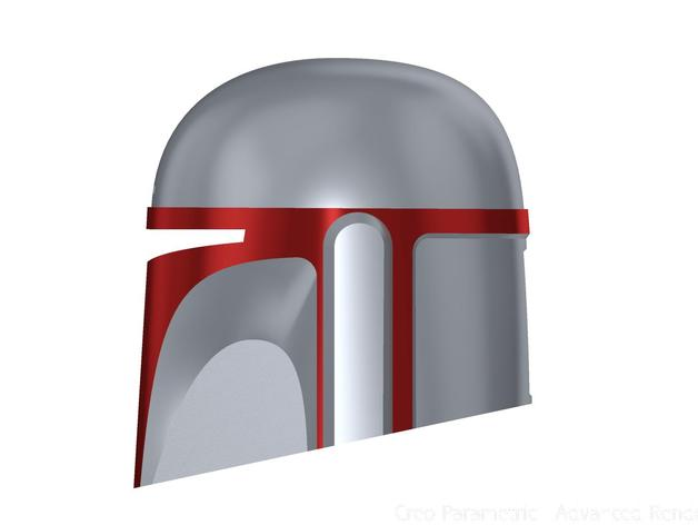 Mandalorian Armor Helmet