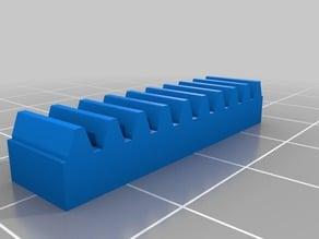 My Customized Lego Rack Gear 4x1