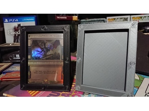 Display Frame for Magic the Gathering and Similar TCGs (UPDATED 8/20/2019)