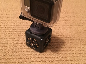 Cubelets GoPro camera adapter