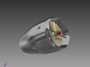 JET TURBINE Air Turbine Model!