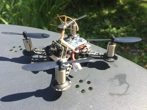 Eachine QX90 tilted camera support - Front mounted