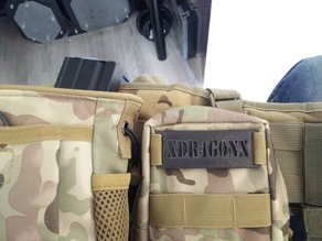 Molle Name Tag
